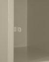 A6 Locker Estandar Filer Metálico Color Arena Porta Candado-600×600