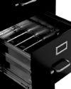 B6 Archivero Filer Metélico Color Negro Detalle -600×600