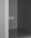 B6 Locker Estandar Filer Metálico 5 Puertas Color Gris LOCC-5P37-GR Porta Candado-600×600