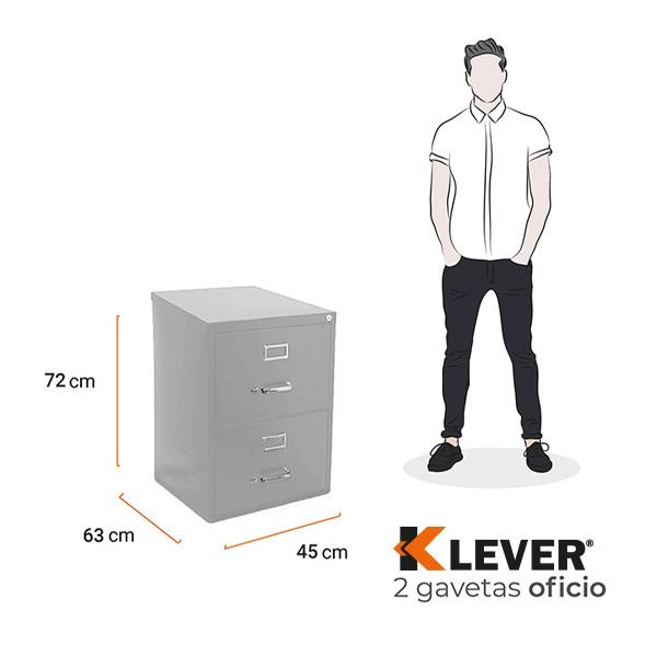 archivero-klever-metalico-medidas