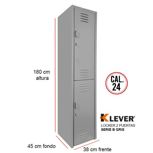 lock-2p-serie b-gris
