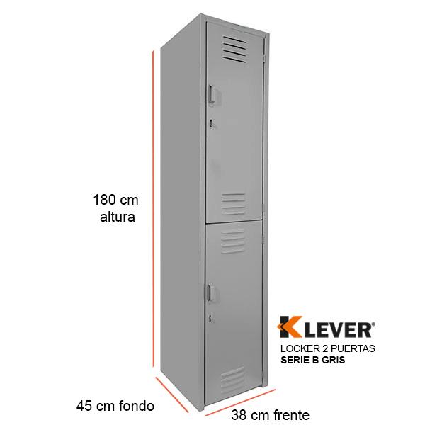 locker-2-puertas-serie-b-gris