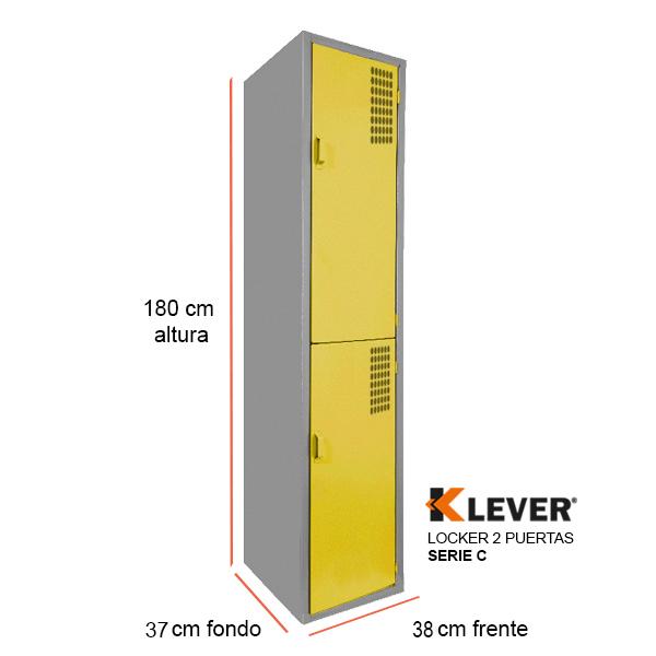 locker-2-puertas-serie-c-amarillo