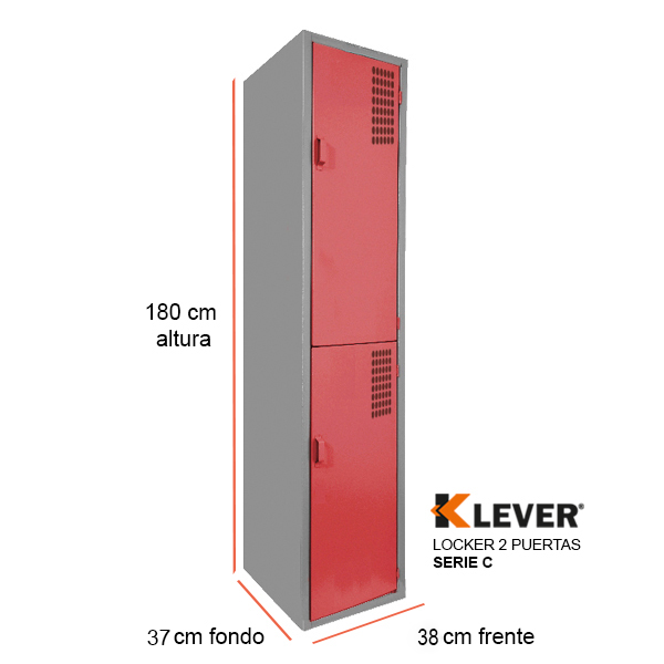 locker-2-puertas-serie-c-rojo