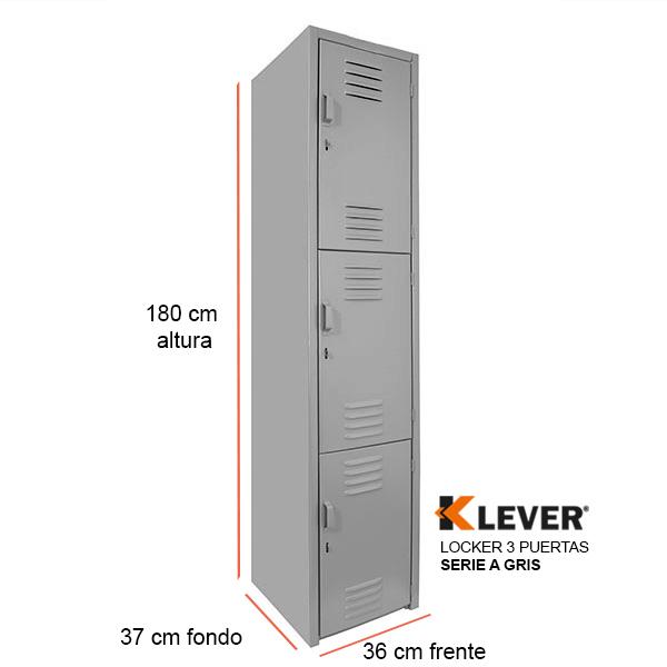 locker-3-puertas-serie-a-gris