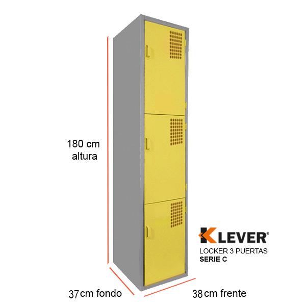 locker-3-puertas-serie-c-amarillo