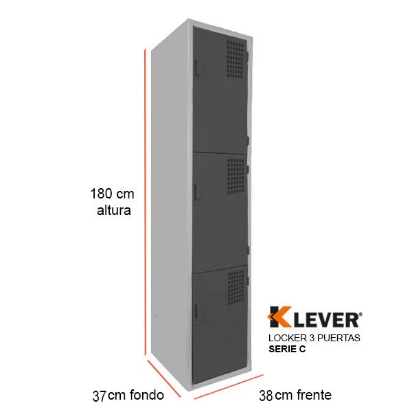 locker-3-puertas-serie-c-negro