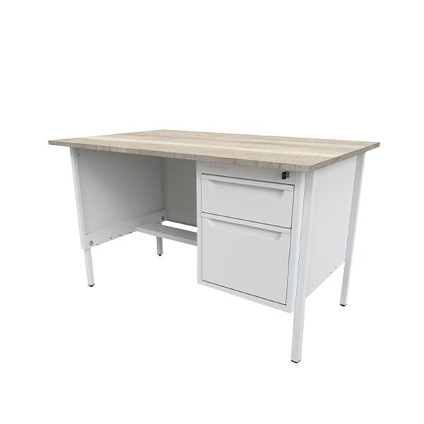 escritorio-metalico-oficina-recto-2-gavetas