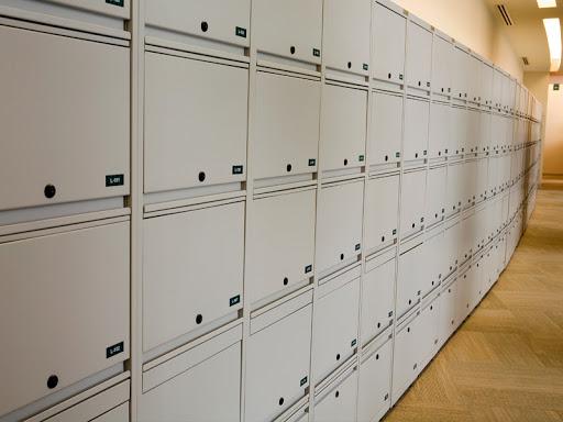 archivero con puertas