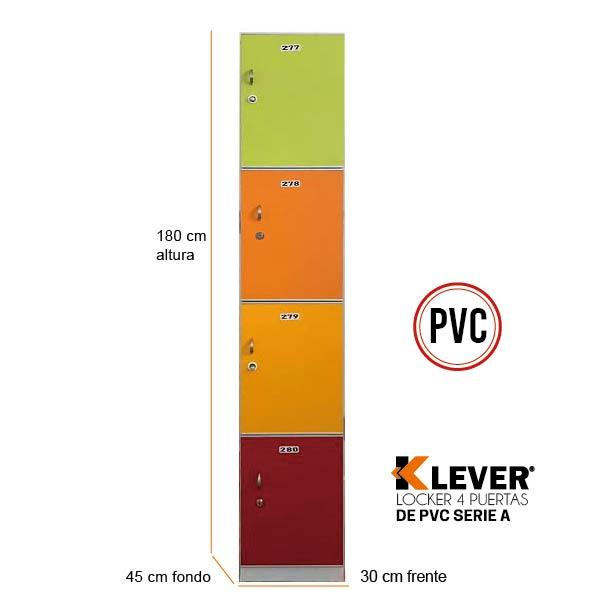 lock-4p-pvc-serie-a
